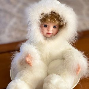 Vintage Santa's Best Christmas Decor Snow Baby